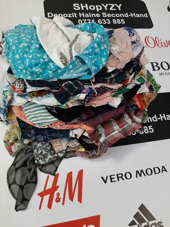 Depozit haine second hand vinde bluze/damă/mătase/subtiri elegante