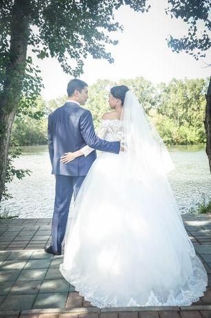 Продам свадебное платье 42/44 размер