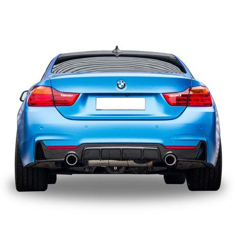 Дифузъор / добавка за задна броня за БМВ Ф32-Ф36 / BMW F32-F36