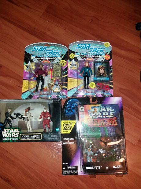 Jucarii vechi colectie Star Trek si Star Wars