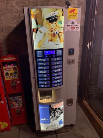 Поставяне на вендинг кафе автомати срещу наем или процент