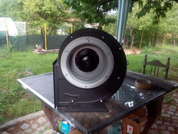 Продавам центробежни вентилатори за дърводелски аспирации, бояд.камери