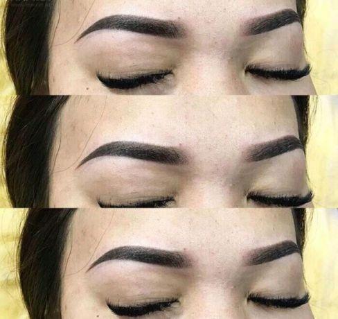 Перманентный макияж любого вида сложности от 8000тенге