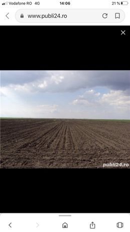 Vand teren agricol in Turnu Magurele