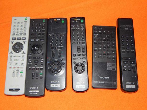 telecomanzi SONY pt. DVD , videoVHS , audio si CD
