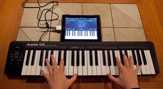 MIDI клавиатура Alesis Q49