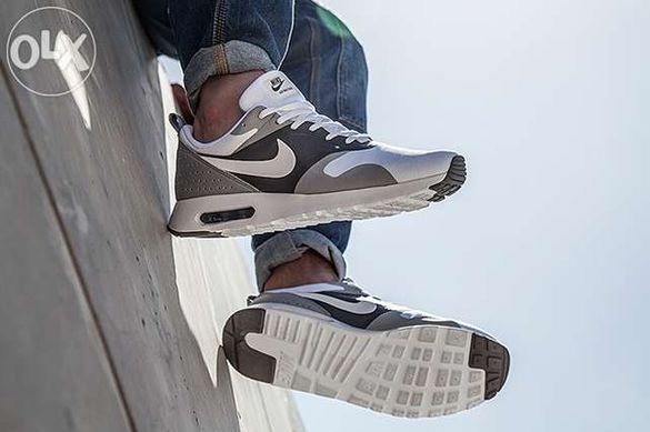 Nike Air max TAVAS white gray