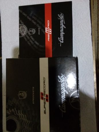 Комплект касета и верига-Campagnolo Super Record 11