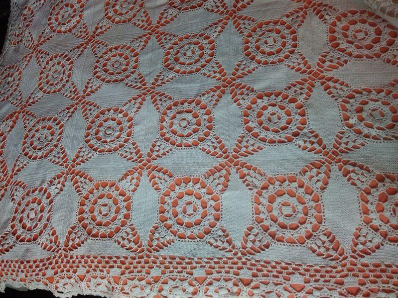 Покривка (шалте) за легло - спалня, ръчно плетена на една кука - НОВО! гр. Кюстендил - image 1