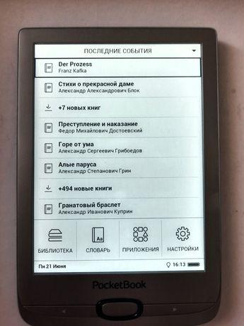 Электронная книга PocketBook 616 (серый)
