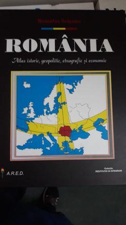 Atlas istoric, geopolitic, etnografic si economic al Romaniei 2000