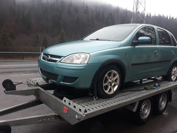 Aripi -capota gri bara spare usi piese Opel Cosa c 1.3 diesel