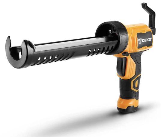 *НАЛИЧНИ* *НОВО* Акумулаторен пистолет за силикон DEKO.