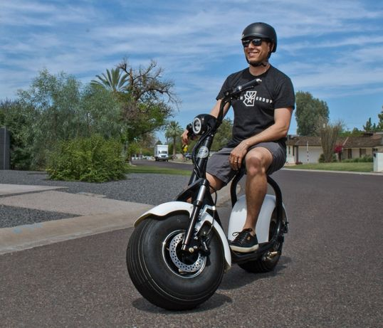 Scuter Harley Trotineta ELECTRICA Scooter Electric Chopper E-BIKE ‼️