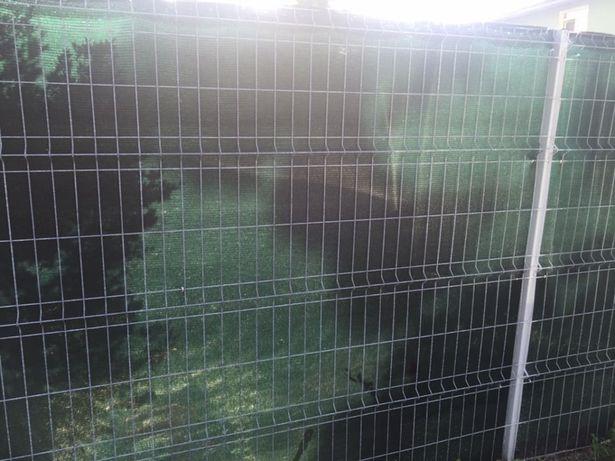 Plasa verde pentru gard / umbrire / antivant / protectie