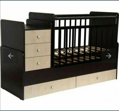 Продаётся детская кровать 2в1
