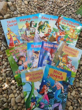 Set 10 carti povesti ilustrate copii 39 ron