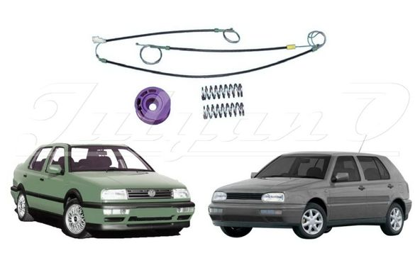 Ремонтен комплект за ел. машинка за стъкло за VW GOLF 3 - VW VENTO