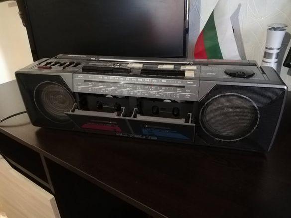 Радиокасетофон Telefunken - 1990 г.-Невероятен звук и бас!