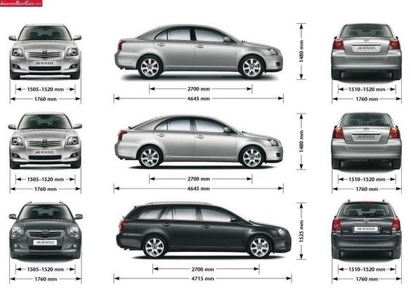 100броя На Части Тойота Авенсис Корола Версо (Дизели и Бензини)