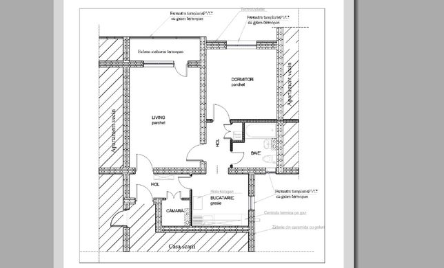 Apartament 2 camere, zona Intim