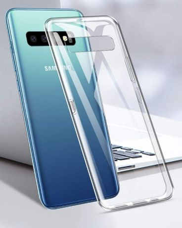 Samsung S10 . S10E . S10 Plus . Husa din Silicon Slim Transparent