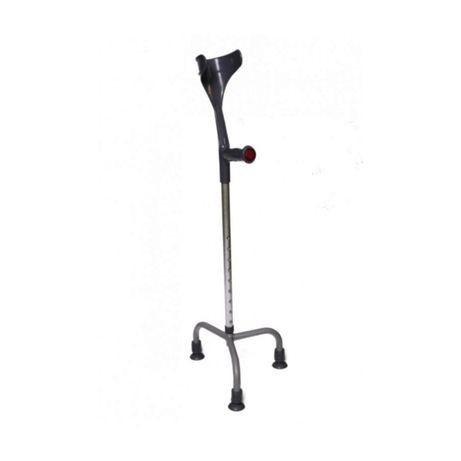 Carje metalice cu 3 picioare, cu sprijin pe antebrat