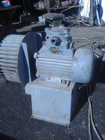 ventilator cu motor de 380 v
