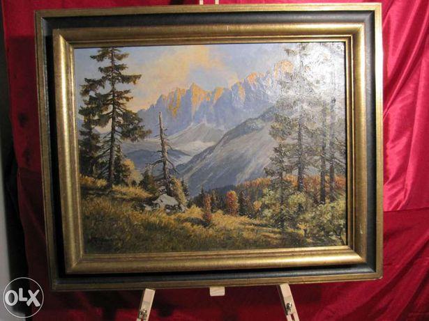 Tablou vechi pictura peisaj