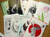 Картички с авторски рисунки и илюстрации