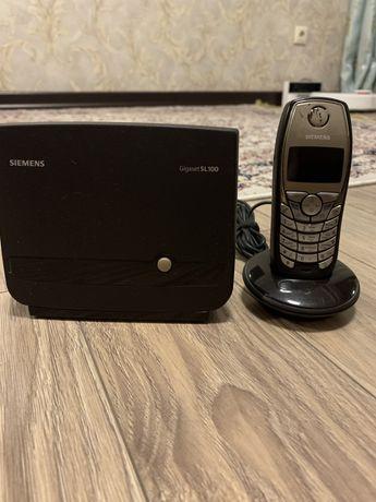 Радиотелефон SIEMENS Gigaset SL 100, colour