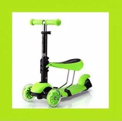 Детска тротинетка скутер 3 в 1 със седалка