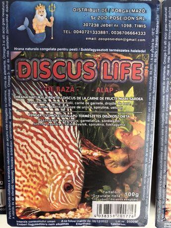 Discus life- Hrana congelata pentru pesti exotici de acvariu.