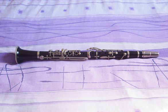 много стар кларинет, стара система