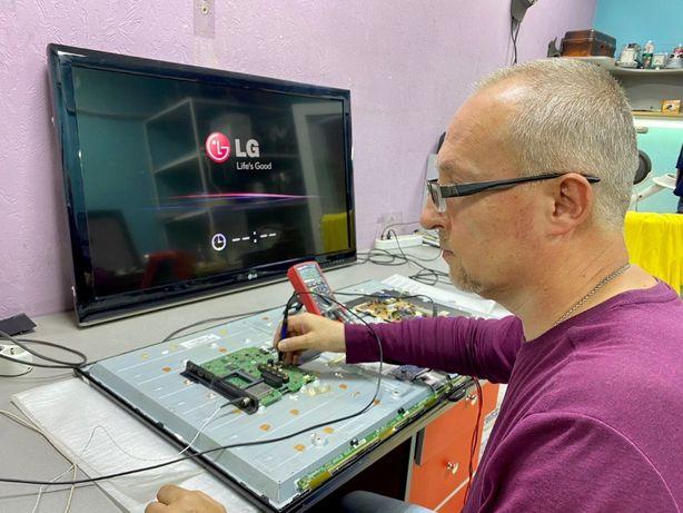 Мастер по ремонту телевизоров, выезд на дом, бесплатная диагностика