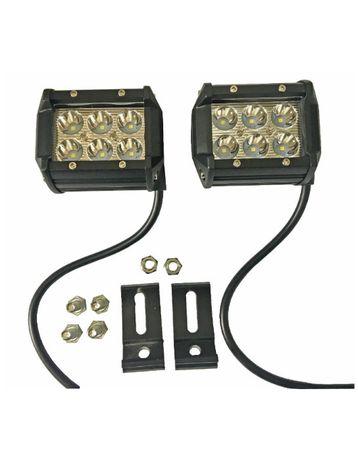 ЛЕД БАР Мощен диоден фар лампа прожектор халоген джип ATV 4х4 офроуд