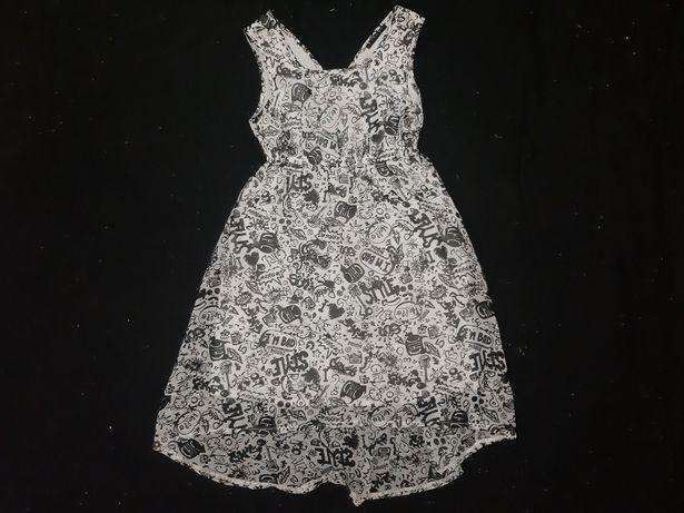 Продам летнее платье SISLEY на 7-8 лет 130 см за 2000тг!