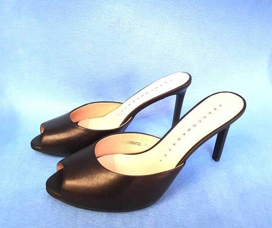 Летние босоножки Franco Manatti кожаные классические 35 размер
