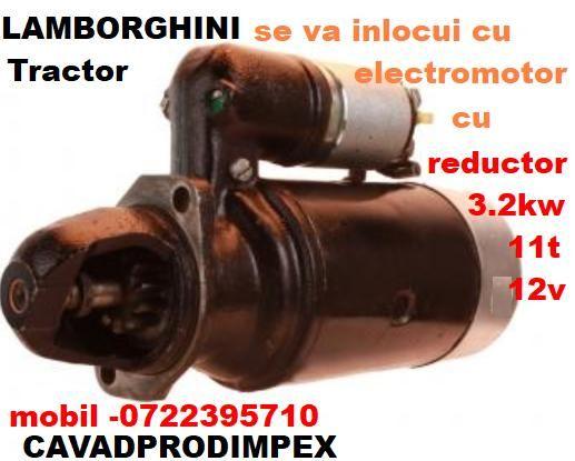 Electromotor pentru tractor LAMBORGHINI NOU cu reductor de 3,2kw