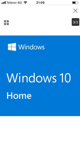Windows 10 Home 64bit English International 1pk DspOeiDVD Version1903