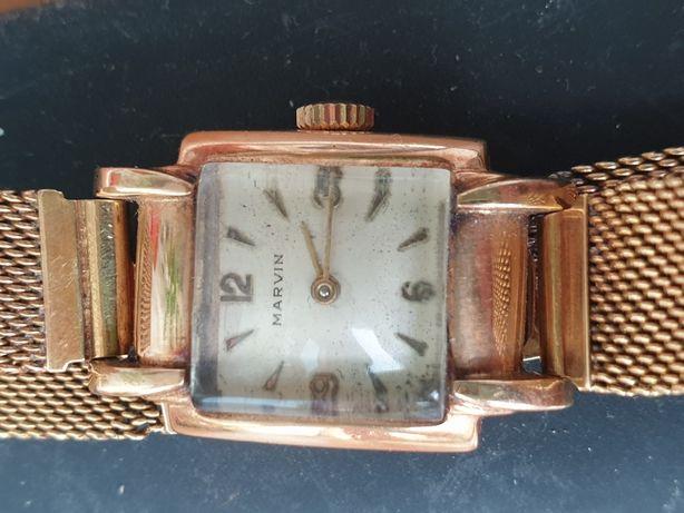 ceas Marvin din aur de 18 krt.