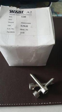 FILETANTE INOX, CAP IMBUX ,pentru tamplarie aluminiu