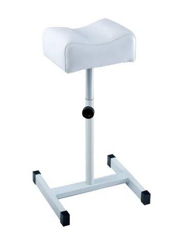 Scaun Suport alb pentru pedichiura reglabil