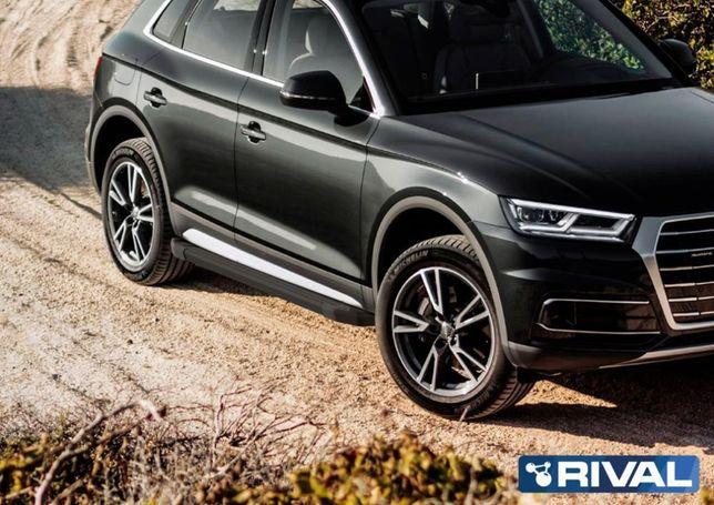 Пороги на Audi Q5 2017+