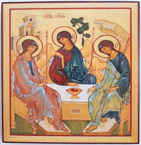 Икона на Светата Троица icona Svetata Troica гр. Пловдив - image 1