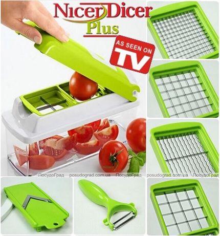 Оригинальная продукция. Нарезайте овощи и фрукты в 3 раза быстрее!