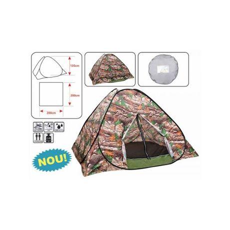 Cort Camping-Pescuit Baracuda T4 Calitate Garantata Cel Mai Bun Pret