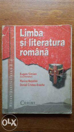 manual de limba si literatura romana pentru clasa 11 a XI-a, ed corint