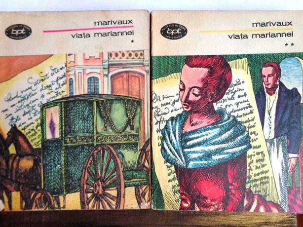 Roman Viata Mariannei doua volume de Marivoux