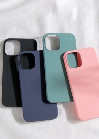 Iphone 12 MINI PRO MAX - Husa X LEVEL Slim Silicon Interior Catifea